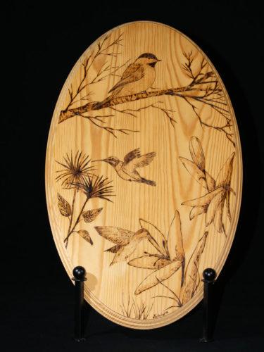 Chickadee - Hummingbirds